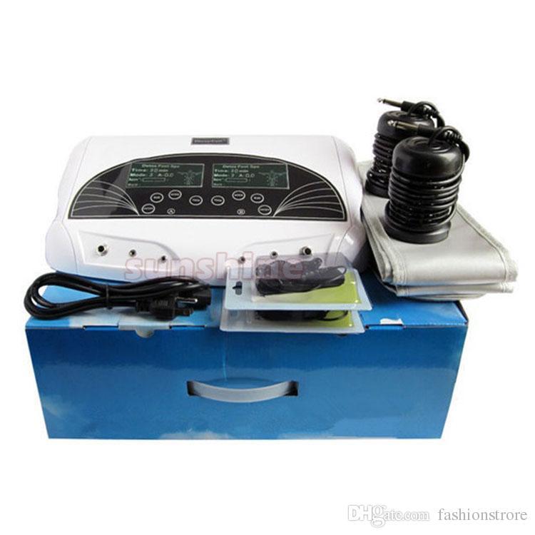 높은 품질의 발 해독 이온화 기계 듀얼 해독 셀 발 스파 기계 가정용 두 사람과 적외선 광선