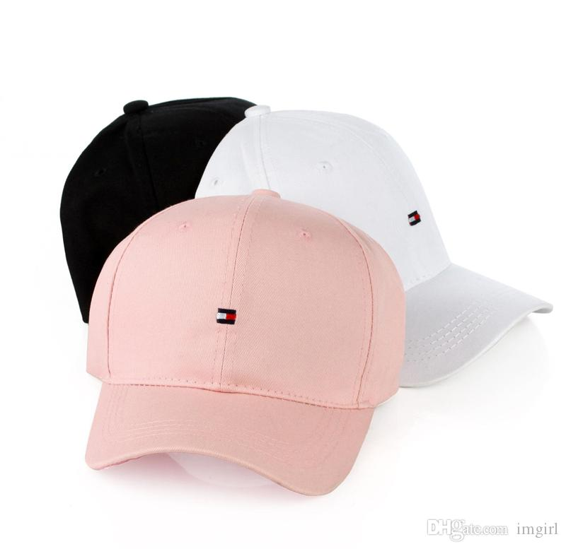 f8eb96fb1eafa 2019 2017 Brand Snapback Caps Strapback Baseball Cap Bboy Hip Hop Hats For Men  Women Fitted Hat Black Pink White From Imgirl