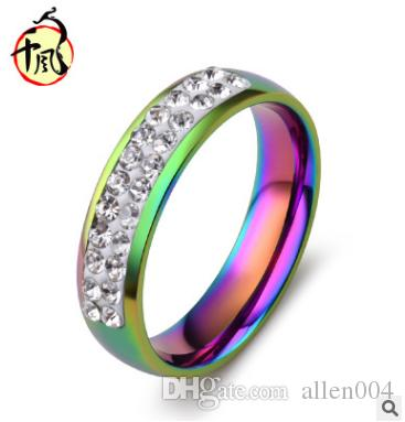 colorful beautiful from jumia rainbow price color lady ring fashion women sand titanium ringfor size jewelry diamond nigeria en girls product gifts tanson di pearl ng