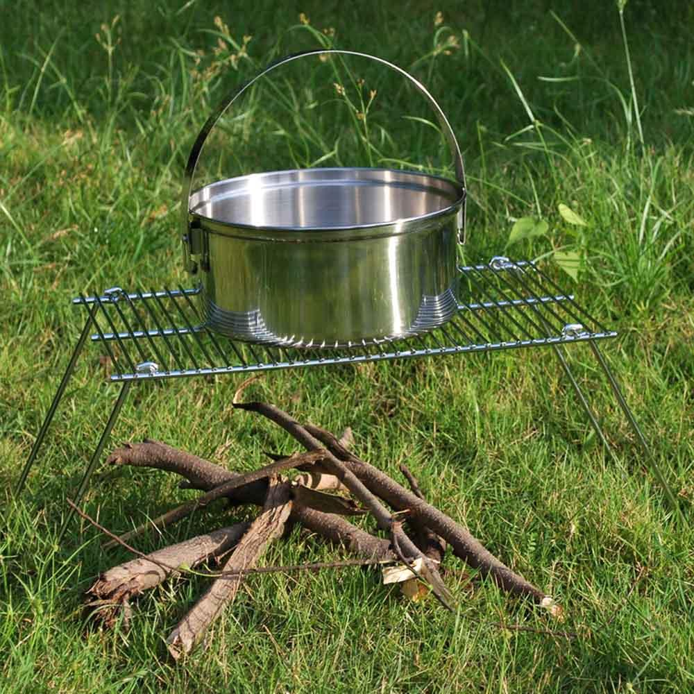 Light Weight Outdoor Camping Travel Cooking Picnic Charcoal BBQ Grill Portable Folding Iron Barbecue Grill 38 * 25 * 30cm