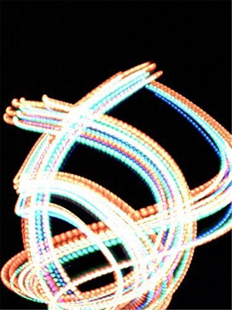 Guanti da festa di Natale di Halloween guanti a bagliore di notte Concerto guanti luminosi nottilucenti dito Regali flash DHL FREESHIP