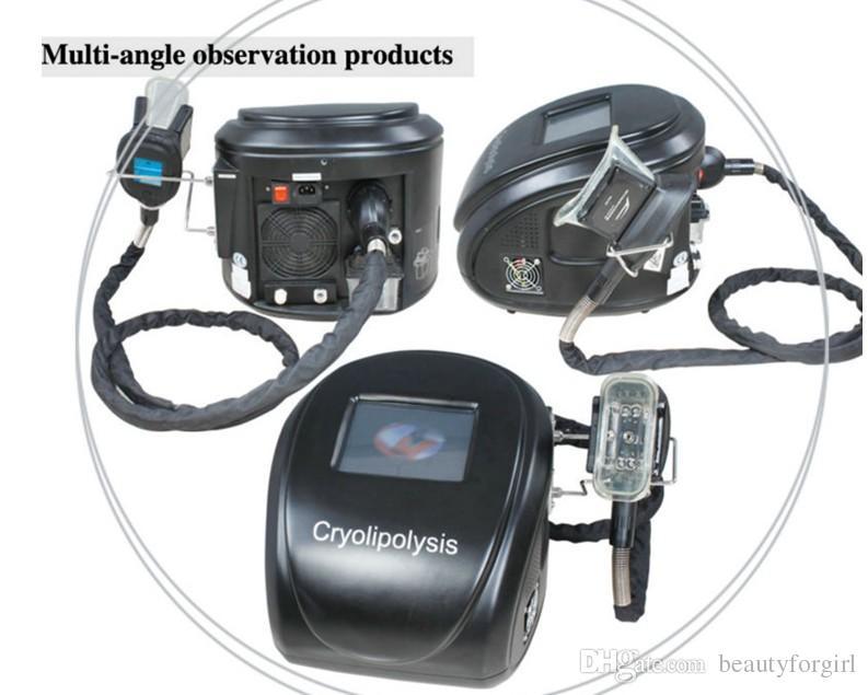 Machine de Cryolipolysis froide d'ultrason de lipolyse froide de congélateur mince de gel portatif de gel portatif non invasif de Cryo6s avec 3 Handpieces interchangeables