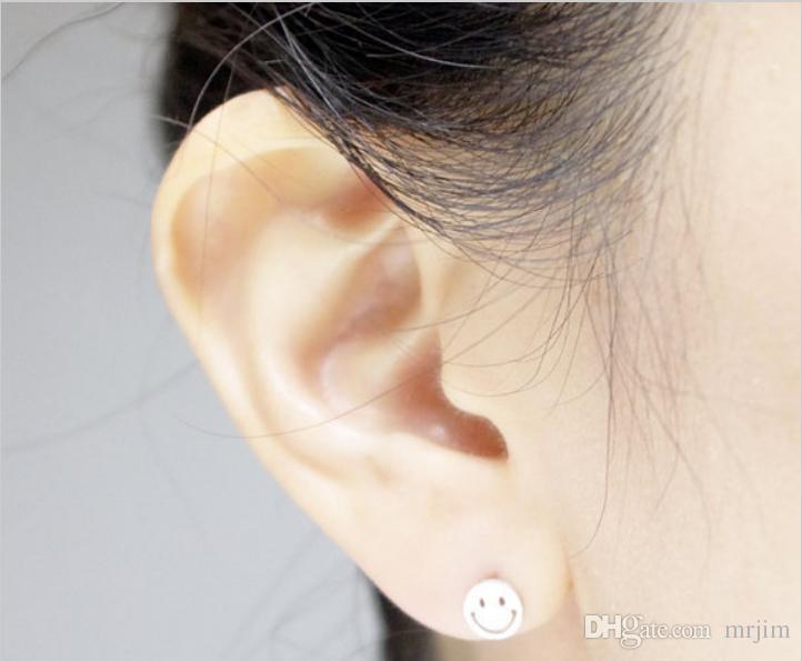 Spécialement conçu pour la mode féminine, évider les boucles d'oreilles souriantes, boucles d'oreilles hirondelles et en gros, livraison gratuite, festival de femmes meilleur g