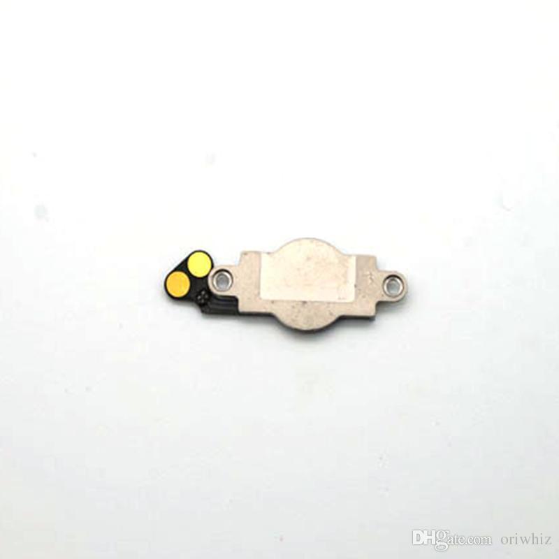 Foto reali Pulsante Home di alta qualità con Flex iPhone 5 5G Parti di ricambio schermo LCD Nero Colore bianco Supporto Ordine misto Accettare