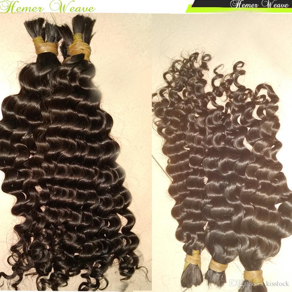 Never Ending Beautiful Hair Cheap Virgin Bulk Hair Peruvian tight curly Rommantic curls