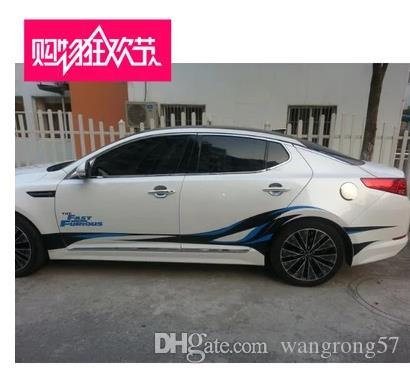 Car Sticker Kia Kk Modified Special Car Stickers Garland - Car decal stickers