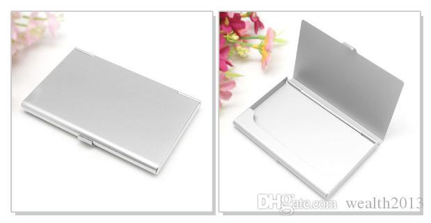 اسم الشركة حامل بطاقة الهوية الإئتمانية ملفات الألومنيوم بطاقة حامل البطاقة التجارية ألومنيوم متعدد الألوان