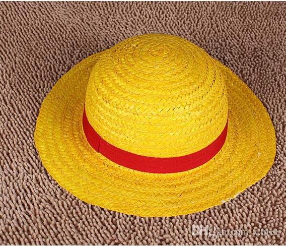 6fafe95b488 Best Wholesale New One Piece Luffy Anime Cosplay Hat Cap Straw Boater Set A  Under  27.09