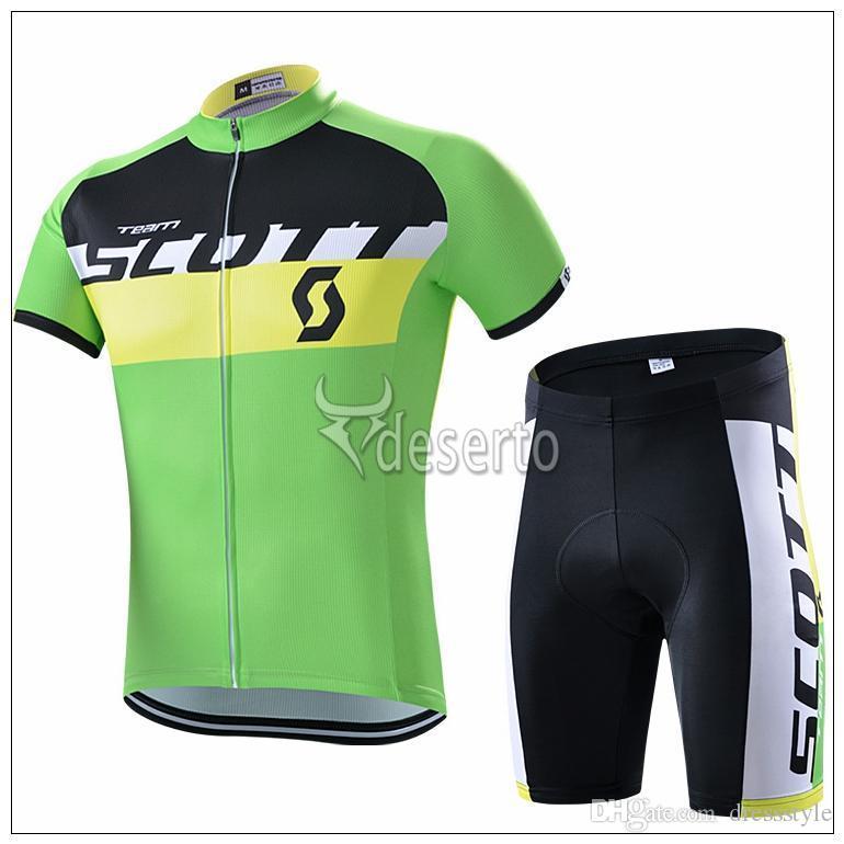 77247dc86 2015 SCOTT Team Bicycle Jersey Short Sleeves Bike Clothing High ...