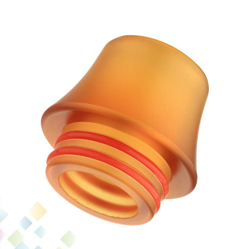 810 PEI Damla İpuçları Geniş Bore Damla İpucu Ağızlıklar Ile Çift O Yüzük ile 810 TFV8 TFV12 TFV8 Big Baby DHL Ücretsiz