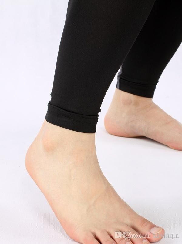 Envío Gratis 2016 Marca PRO Fútbol Baloncesto Entrenamiento de Compresión Elástico Leggings de secado rápido Deporte Fitness Leggings Hombres