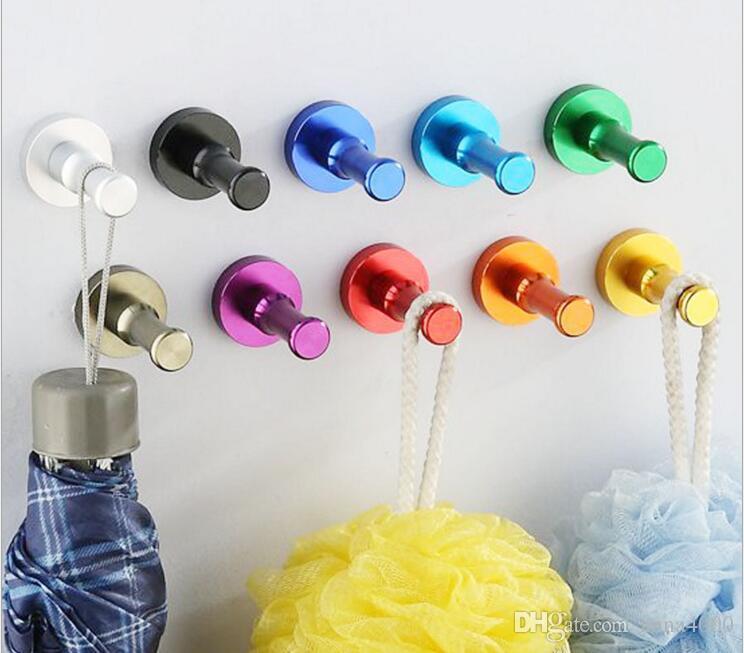 colorato appendiabiti da cucina porta panno appendiabiti a parete gancio asciugamano accappatoio accessorio bagno gancio colore della caramella