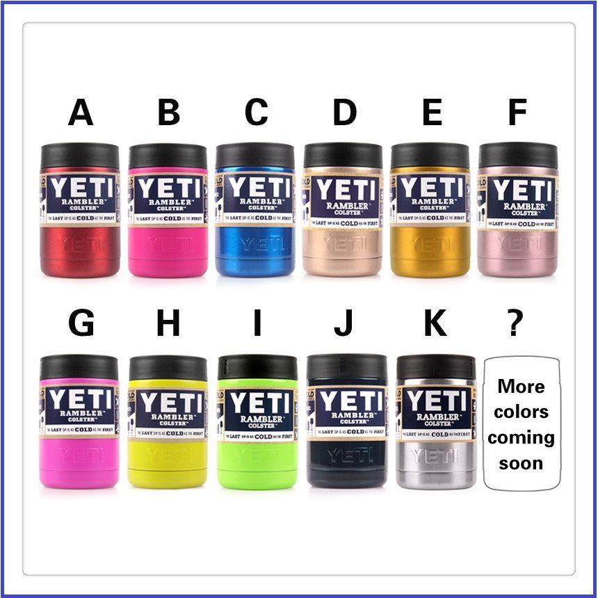 Yeti Rambler Sale >> Yeti Coolers Rambler Colster 12oz Koozie Yeti Can Pink ...