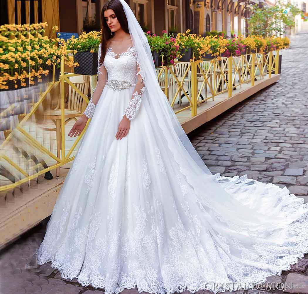 Discount 2016 Modest Victorian Wedding Dresses Sexy Sheer