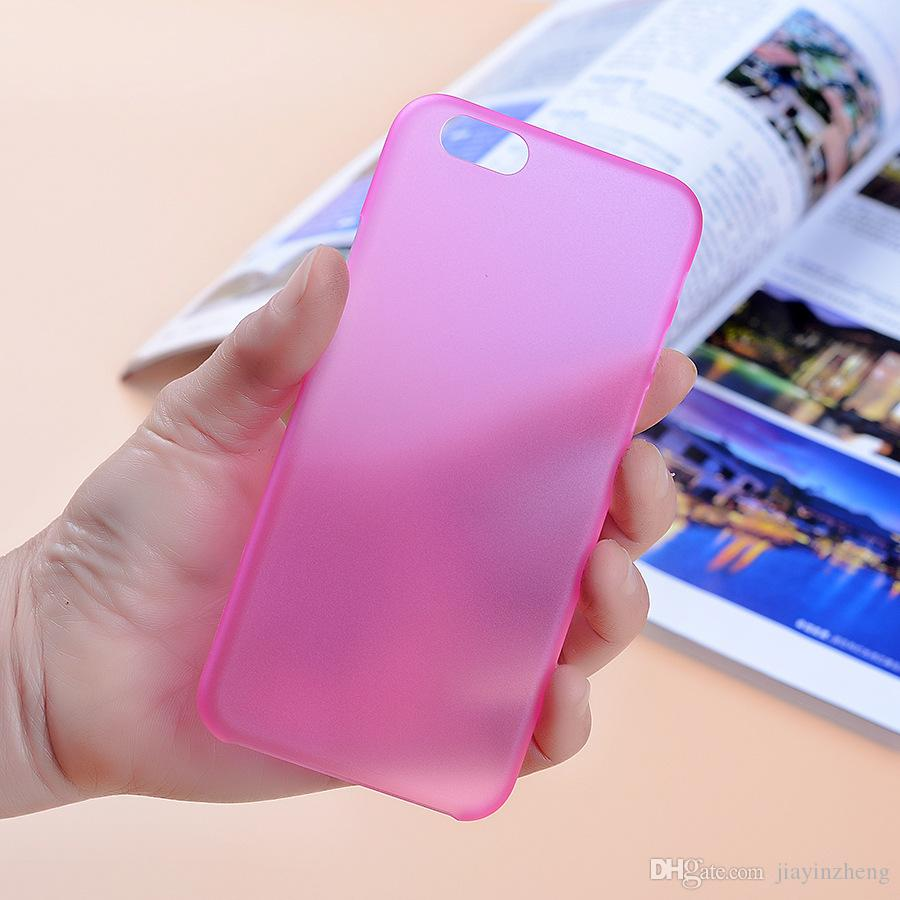 Cell Phone Cases 0.3mm Ultra Slim Clear Cases TPU PP Case Cover Skin for iPhone5/6/7 plus S6 Cheaper Price DHL