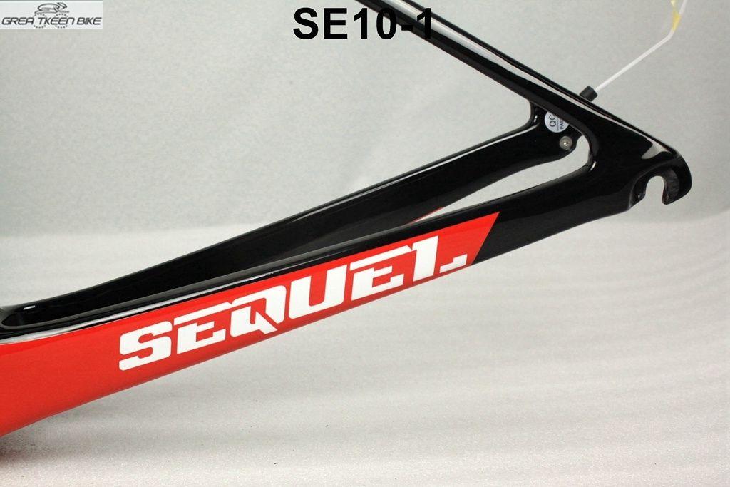 light racing frame carbon road bike frame fit 70Cwheels internal cable