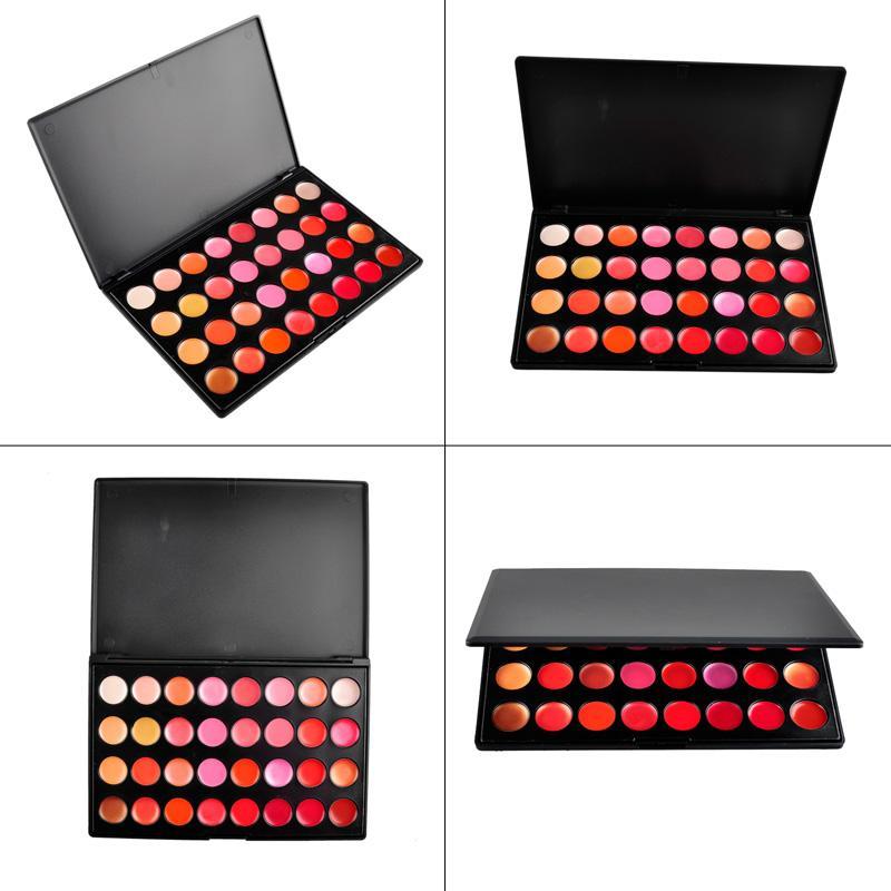 Lips Lipstick Palette Professional Makeup Lipstick Cake Cosmetic Makeup Tool DHL 2803005
