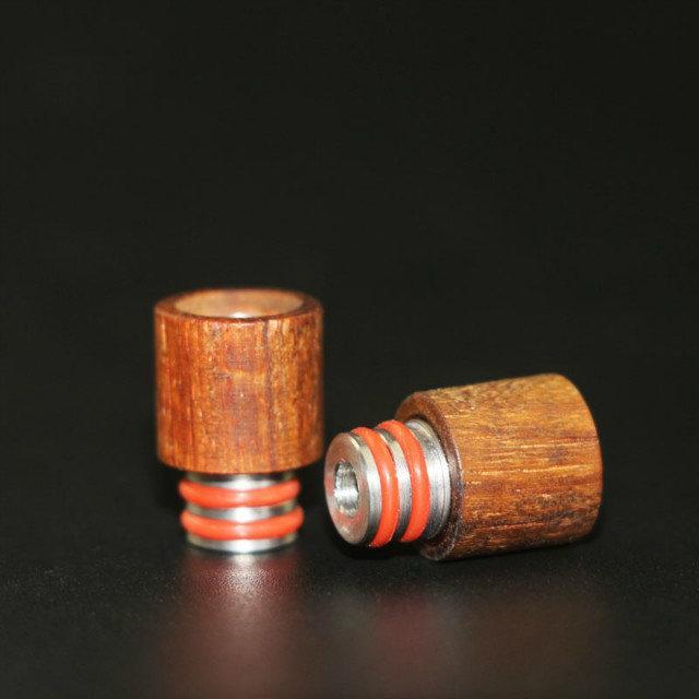 Best Drip Tips in legno 510 Red Wood Bocchino in acciaio inox SS Drip Tip Fit Box Mod Atoimzers Ecigs Serbatoi RDA Atomizzatore Vape
