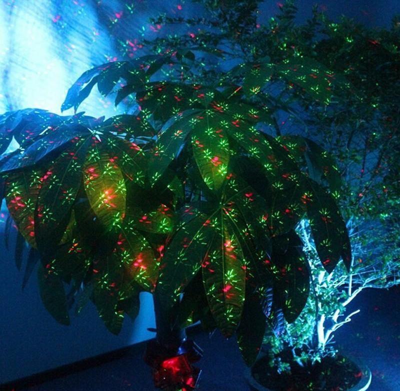 ip68 outdoor waterproof red green christmas laser projector elf christmas lights outdoor laser projector garden decoration light stage lighting for sale