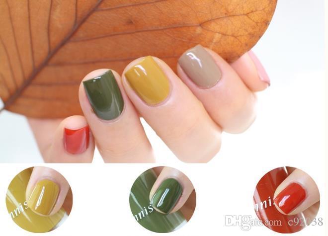 Innisfree Nail Polish No Toxic Vitality Polish Lasting Colors Soak ...