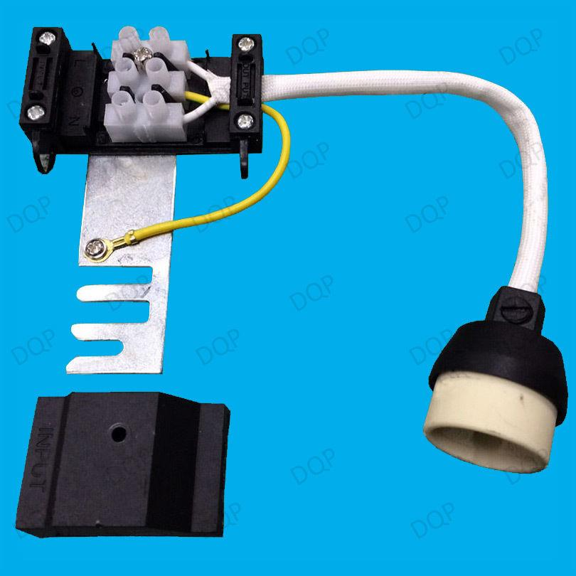 GU10 Ceramic Socket Heat Resistant Flex Lamp Holder & Bridge, Down light Fitting