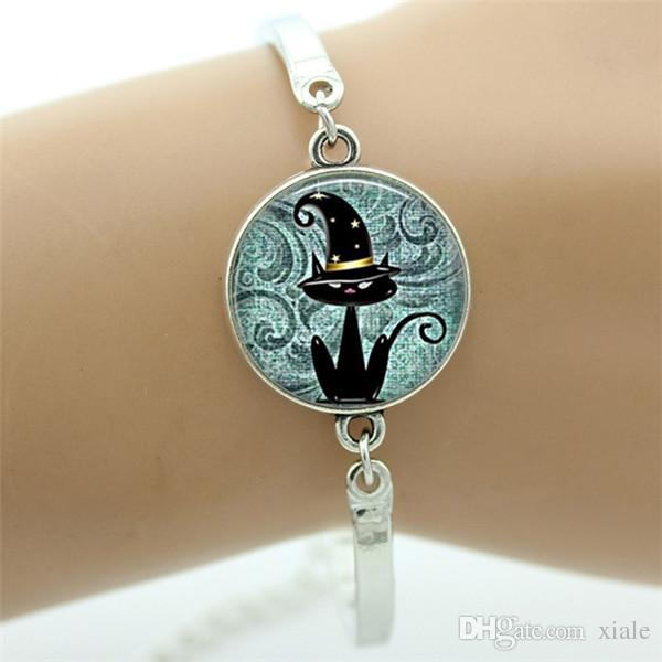 Vintage tetragrammaton symbol bracelet classic Jehovah's witnesses gifts women Halloween Witch holiday jewelry T241