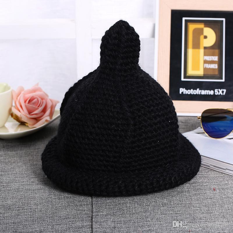 2016 Solido adulti cotone casuale acrilico Rushed nuovo modo inverno femminile cappelli a mano grossa Cappellino le donne Berretti