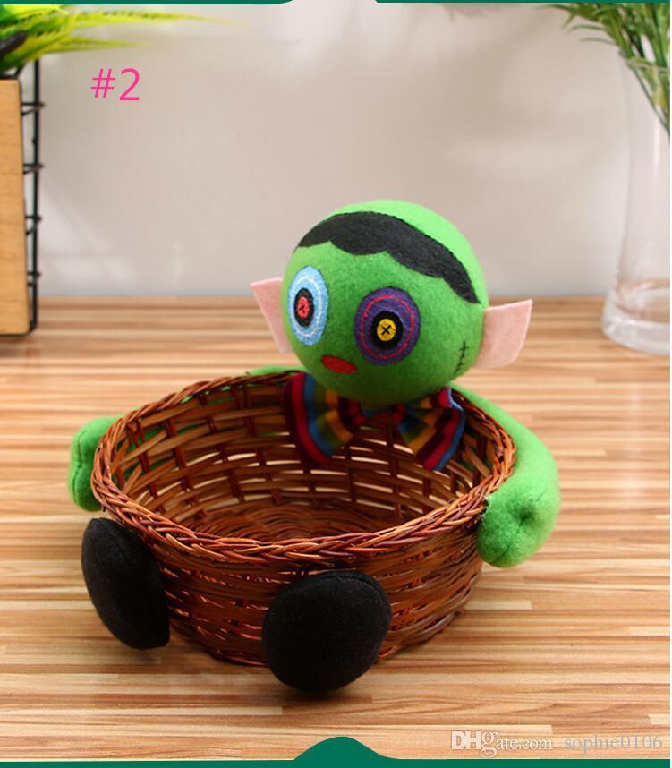 هالوين أفخم لعب الفاكهة الحلوى الكوكيز مربع سلال KTV PUB حلية ديكور JMT 004