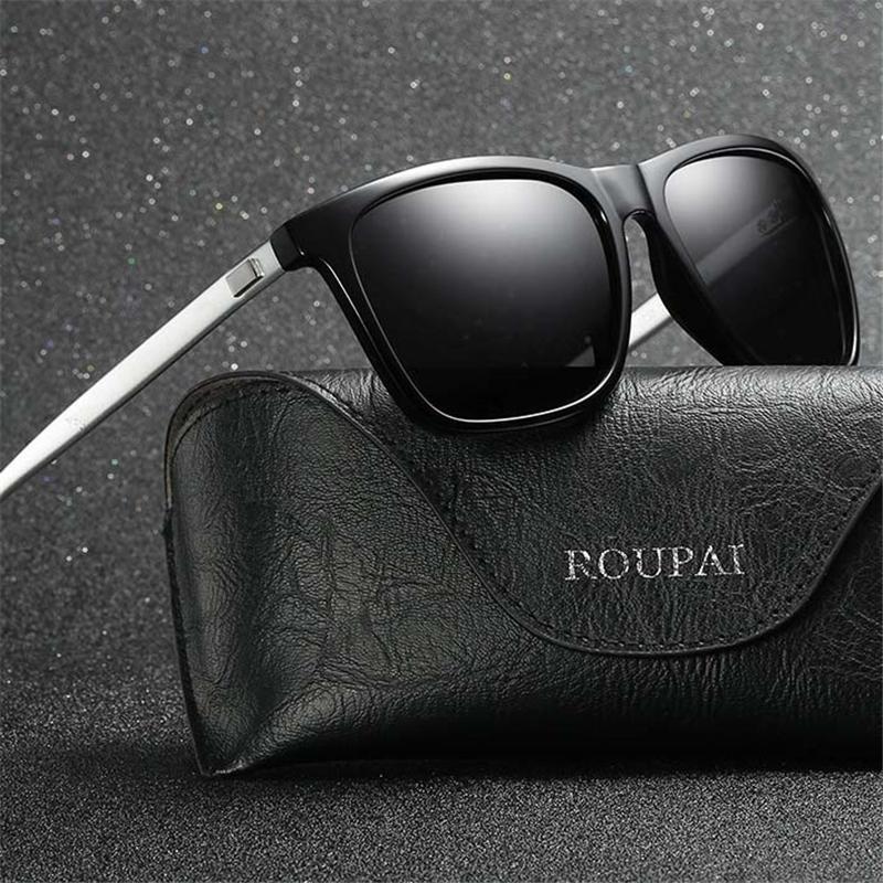 9e33efdaec Compre Gafas De Sol Retro Diseñador De Lentes Polarizadas De Lujo Marca  Gafas De Sol De La Vendimia Para Hombres / Mujeres Gafas De Sol Con Marco  De Metal ...