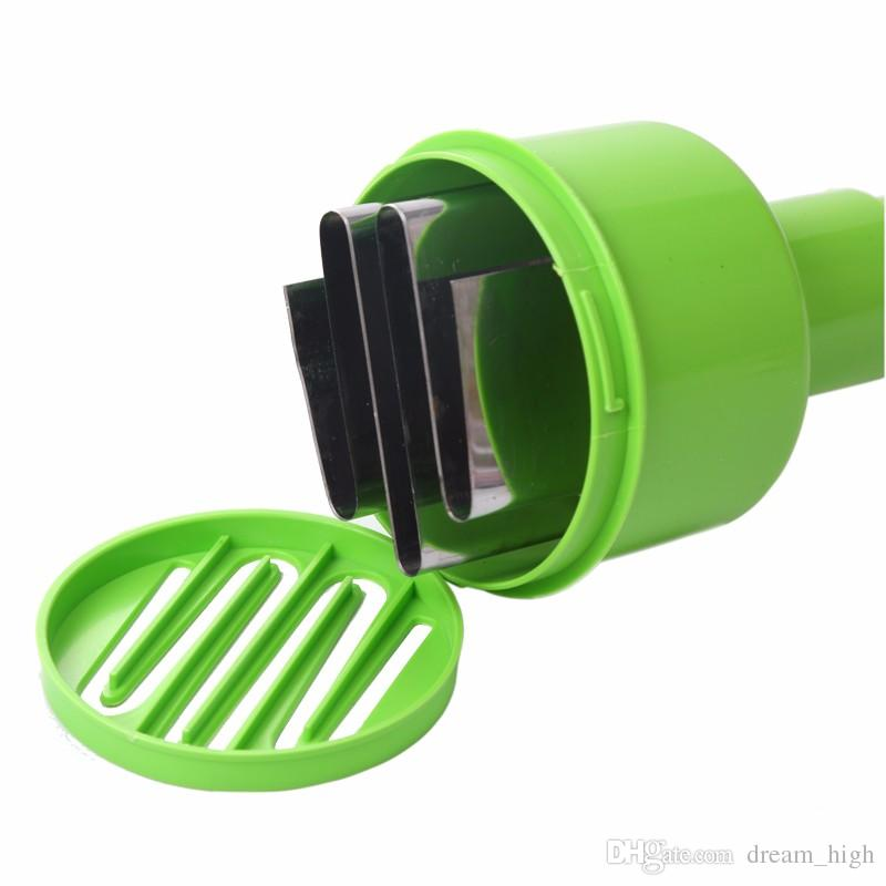 Stainless Steel Hand Pressure Type Shredder The Kitchen Chop Ginger Onion Vegetable Cracker Cutting Onions Device