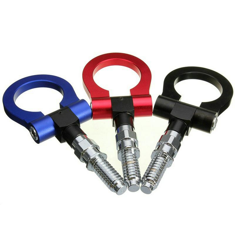 20PCS Universal Racing Towing Car Tow Hook Fit For BMW European Car Auto Trailer Ring Car Accessories