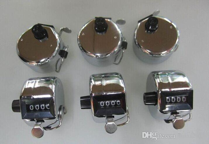 Оптовая продажа 100 шт./лот подсчет счетчик ручной Гольф инсульт Lap инвентаризации - металл горячая продажа DHL Бесплатная доставка