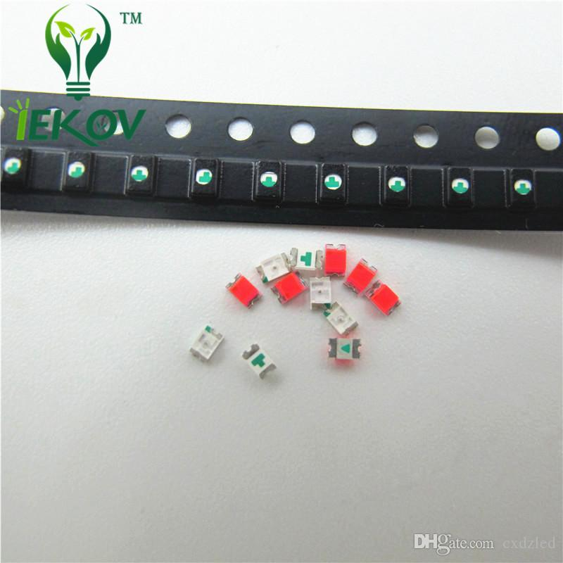 High Quality 0805 SMD/SMT Chip Orange/Amber LED 600-610nm Ultra Bright Light Emitting diode Suitable for DIY Car and Toys