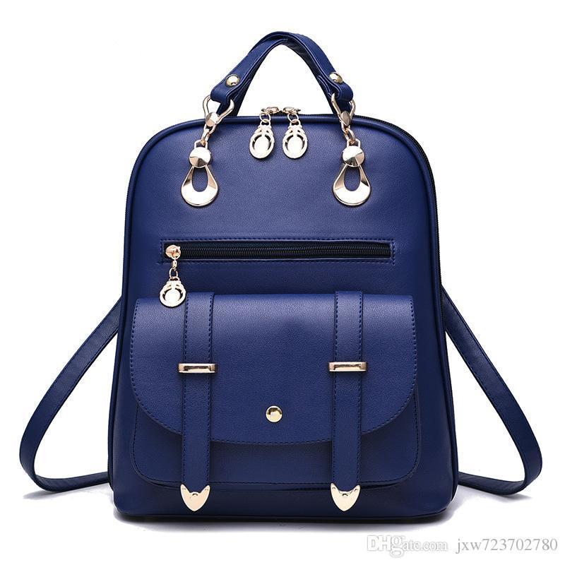 Sac à dos de nouvelle mode féminine sac d'école sac à main sacs à main épaule sac top qualité livraison gratuite