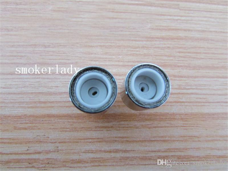 Donut Wax Ceramic Coils for glass globe atomizer Cannons bowling atomizer donut coils ecigs glass vaporizer donut wax coils vs RBA Coil