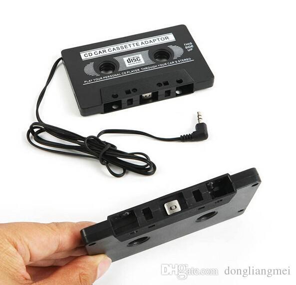 2017 универсальный автомобиль аудио кассета адаптер аудио стерео кассета адаптер для MP3-плеер телефон Бесплатная доставка E199