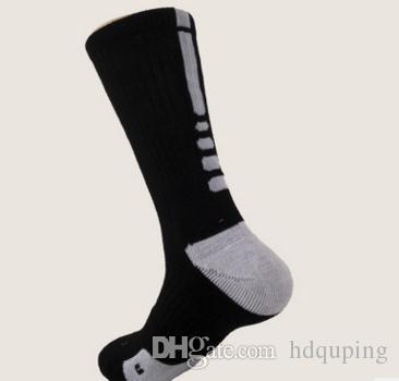 9ae00bea911 The USA Professional Elite Basketball Socks Long Knee Athletic Sport ...