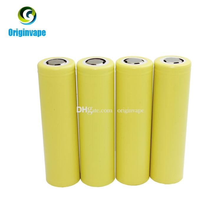 Authentic HE4 18650 Battery 2500mah 35A IMR Lithium Rechargeable Batteries Using Chem Battery Cell Fedex
