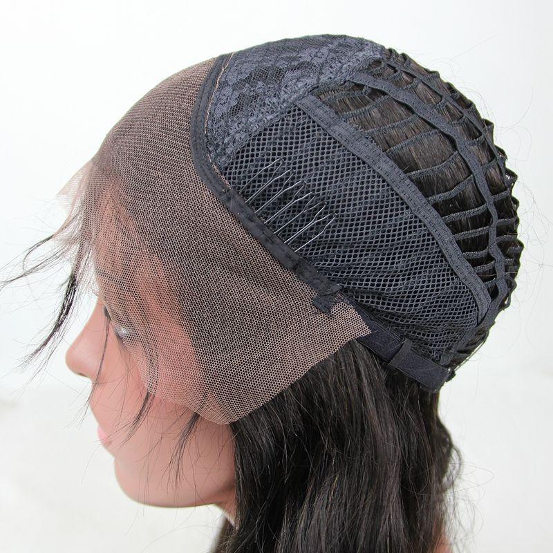 New Arrival 9A # 1B / grau Ombre Haar Perücke lösen Welle volle Spitze-Perücke Ombre Sliver Grau-Spitze-Front-Perücke für schwarze Frau
