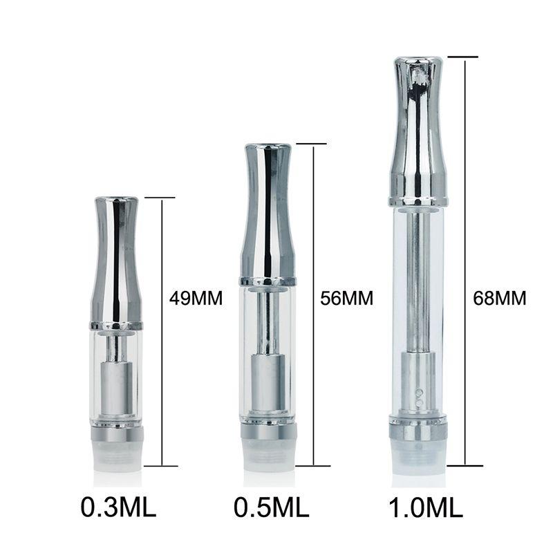 2017 новый 92a3 масло стекло металлического бака CE3 cartomizer картриджи танк электронные сигареты танк E сигареты
