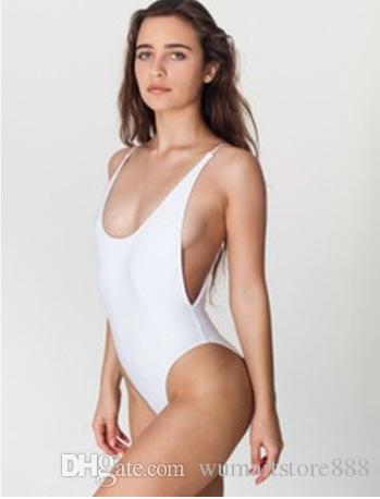 Sexy bikini monopezzo Push-up imbottito Halter Monokini Costume intero Bikini Costume da bagno Costumi da bagno