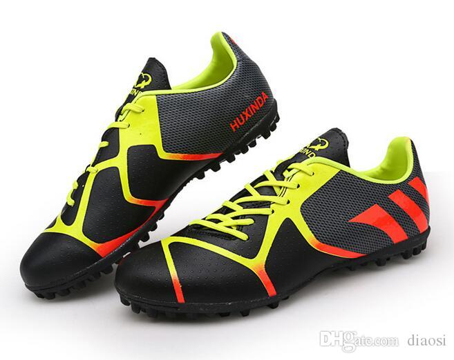 fe42d7d3f91 Unisex Football Boots Cheap Soccer Cleats Outdoor Fussball Shoes TF Soccer  Cleats Gift 33 44 Designer Shoes Ash Shoes From Diaosi