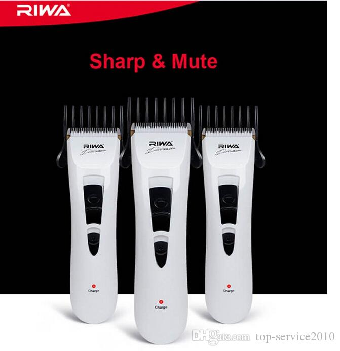 Riwa Rechargeable Hair Clipper With 2 Batteries Ivory New Arrival Low Noise Hair Trimmer RE-740A