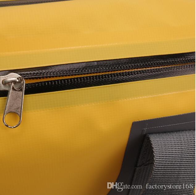 Водонепроницаемые сухие мешки из брезента ПВХ 10 л дорожный водонепроницаемый чехол с двойным ремешком и боковыми карманами на молнии