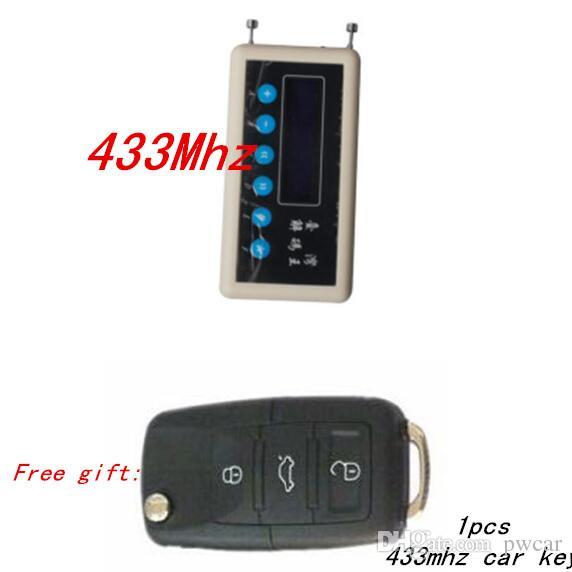 433Mhz Détecteur de Signal de Contrôle à distance sans fil clé décodeur scanner + Ae clonage Clé De Voiture Télécommande