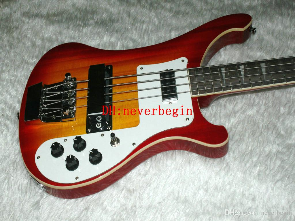 Guitares basses 4 cordes 4003 Basse électrique Nouvelle arrivée Vente en gros OEM Instruments de musique