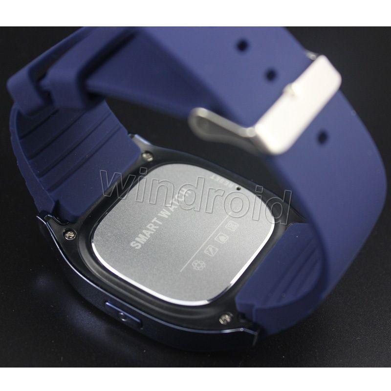 NUEVO M26 Bluetooth Smart Watch Reloj de pulsera de lujo R Reloj smartwatch con Dial SMS Recordar Podómetro para Android Teléfono Samsung Caja de venta al por menor