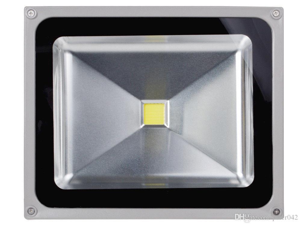 Projector exterior da luz de inundação da lavagem da paisagem do diodo emissor de luz do poder superior do branco 50W impermeável