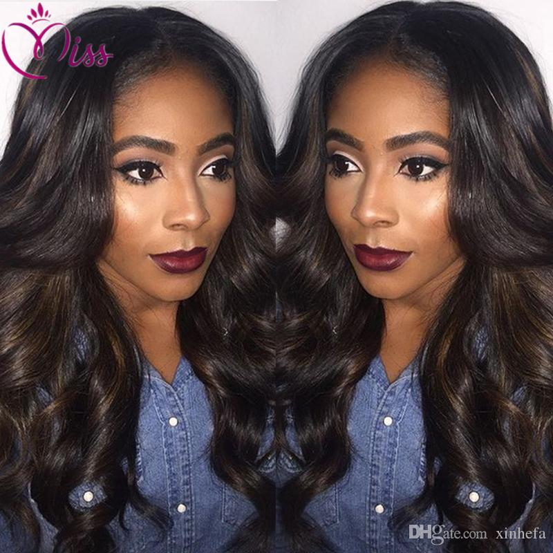 Unprocessed Body Wave Glueless Lace Front Wig For Black Women Peruvian Human Hair Body Wave Full Lace Wigs With Baby Hair