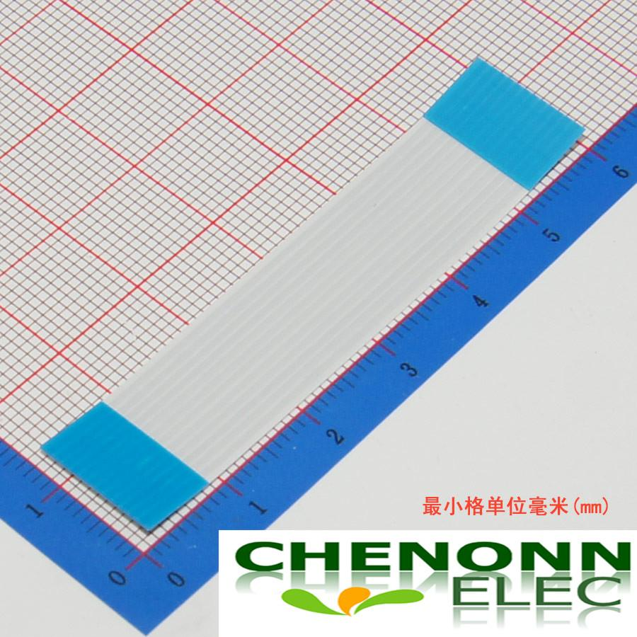 12Pin 1.0mm Pitch FFC FPC Type A 60mm Length Flat Flex Ribbon Cable/Flexible Flat Cable Same Side
